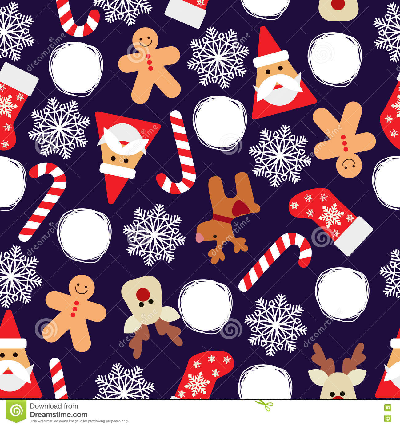 vector seamless flat pattern with icons of happy new year and christmas day stock vector illustration of reindeer icon 78760369 vector seamless flat pattern with icons of happy new year and christmas day stock vector illustration of reindeer icon 78760369