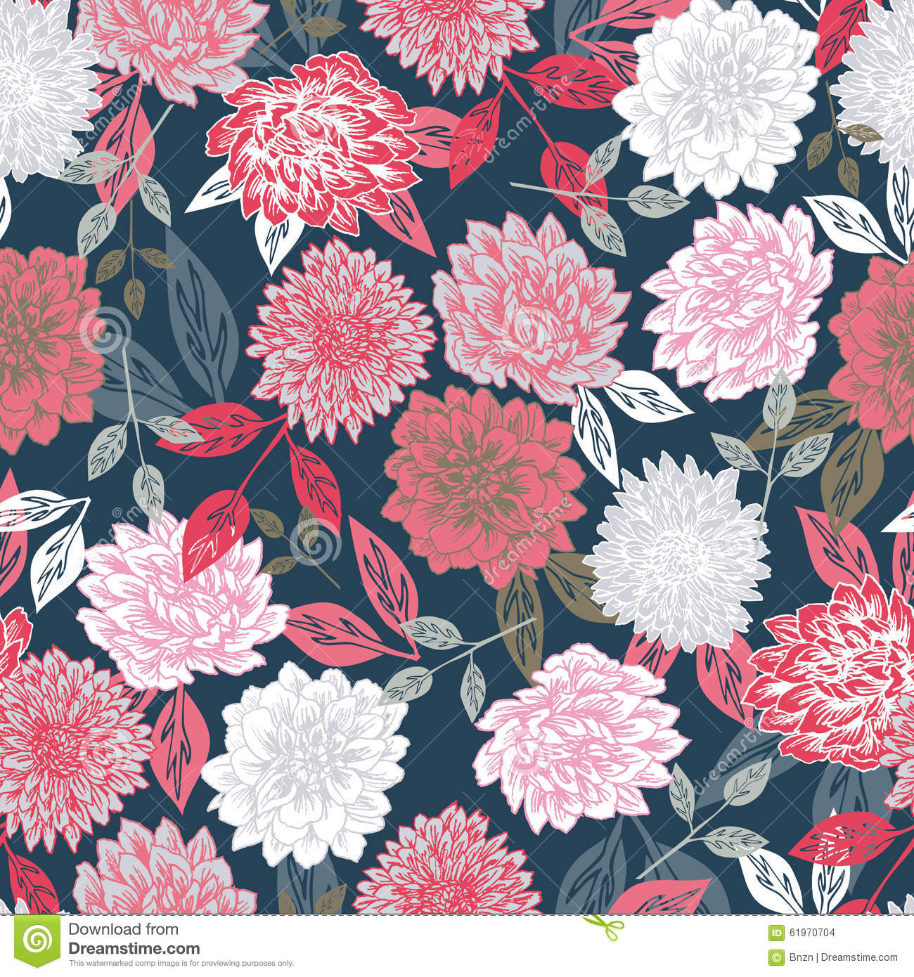vector seamless floral print background stock photo image of fine