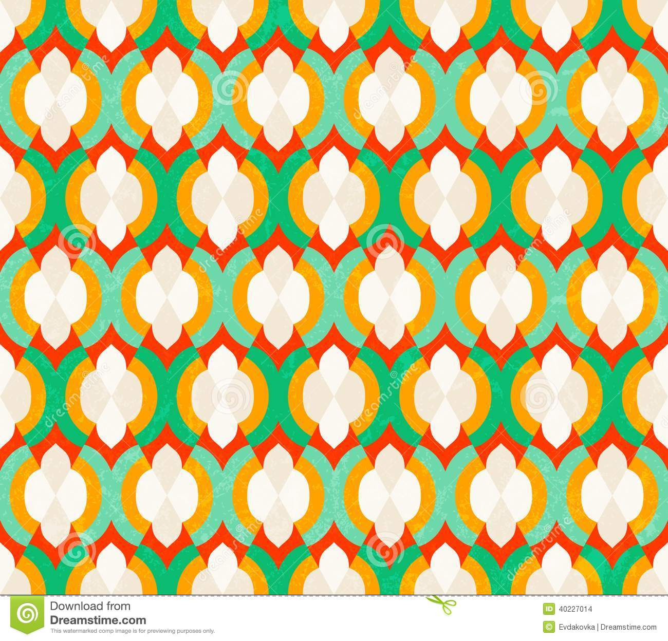 Vector Seamless Moroccan Pattern Stock Vector Image