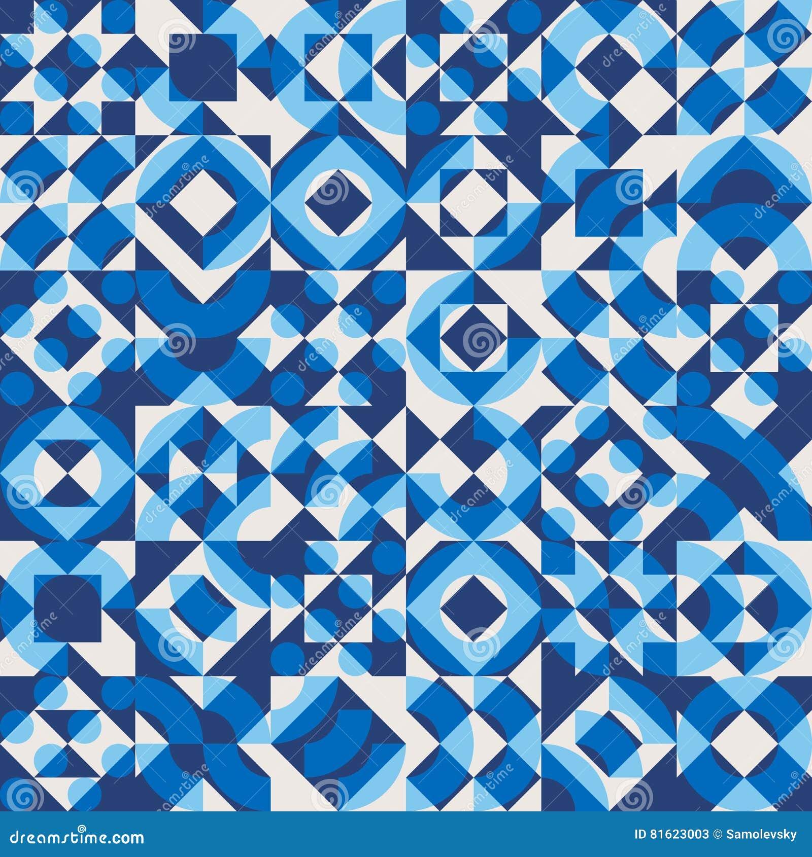 vector seamless navy blue color overlay irregular geometric blocks