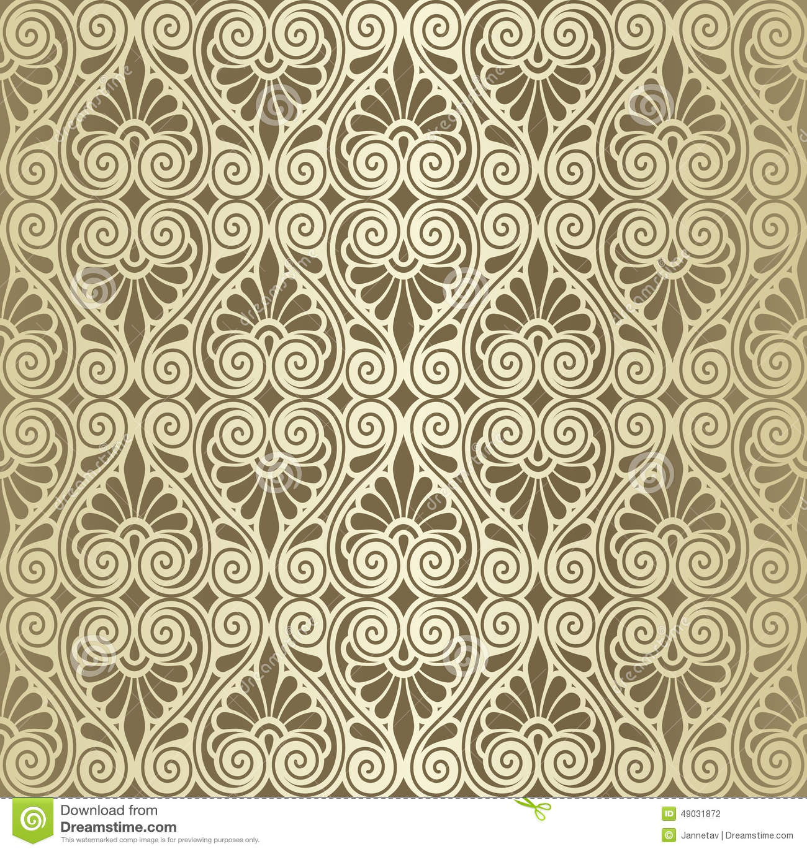 vector seamless renaissance wallpaper - photo #4