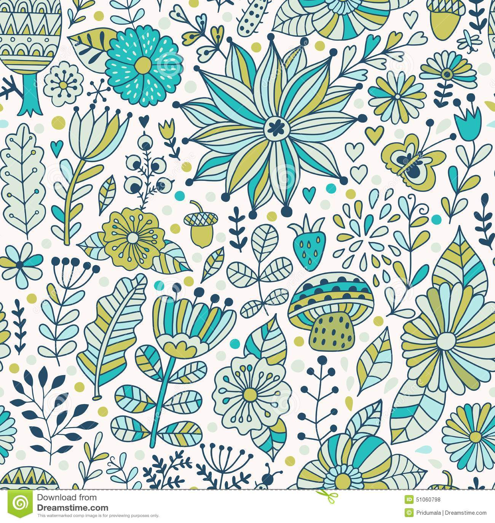 vector seamless pattern doodling design hand draw