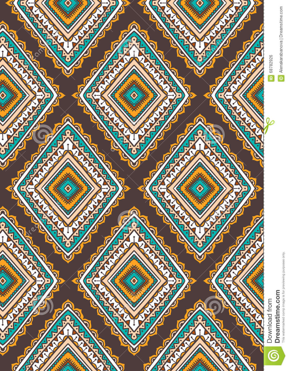 vector seamless pattern for tribal design ethnic motif cartoon vector. Black Bedroom Furniture Sets. Home Design Ideas