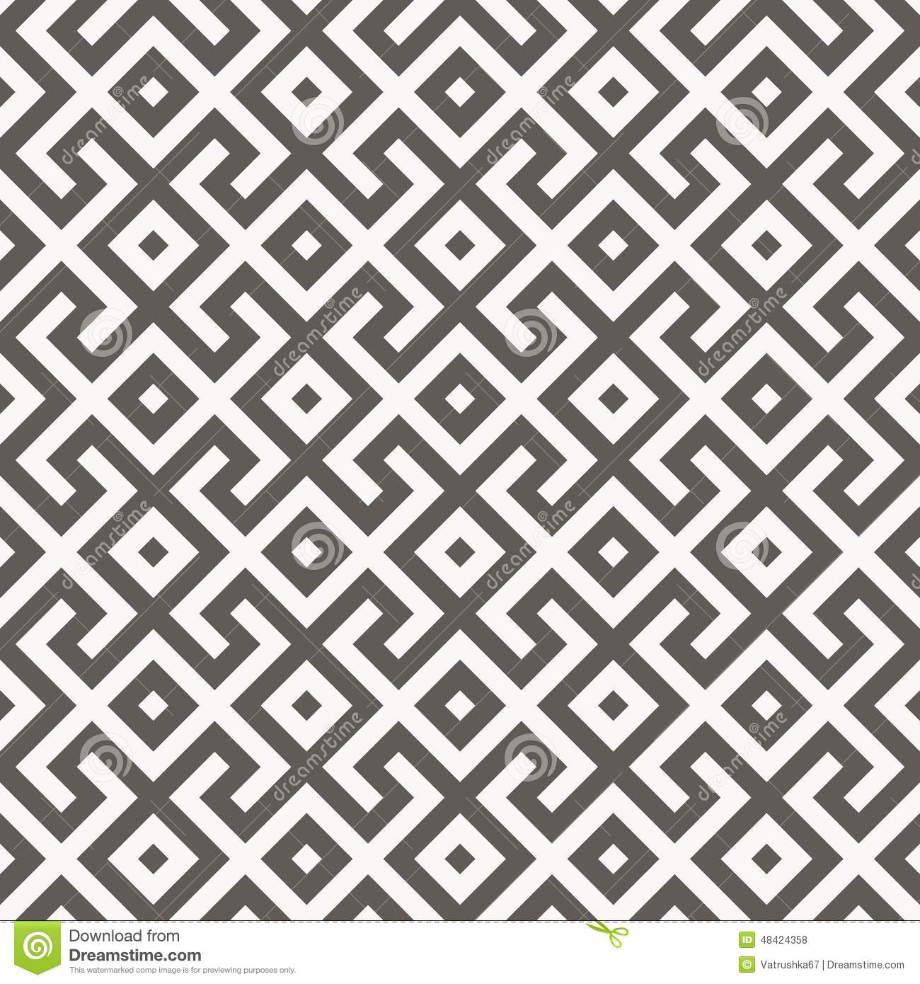 Vector Seamless Pattern. Geometric Texture. Stock Vector ... for Modern Arabic Pattern Vector  585eri