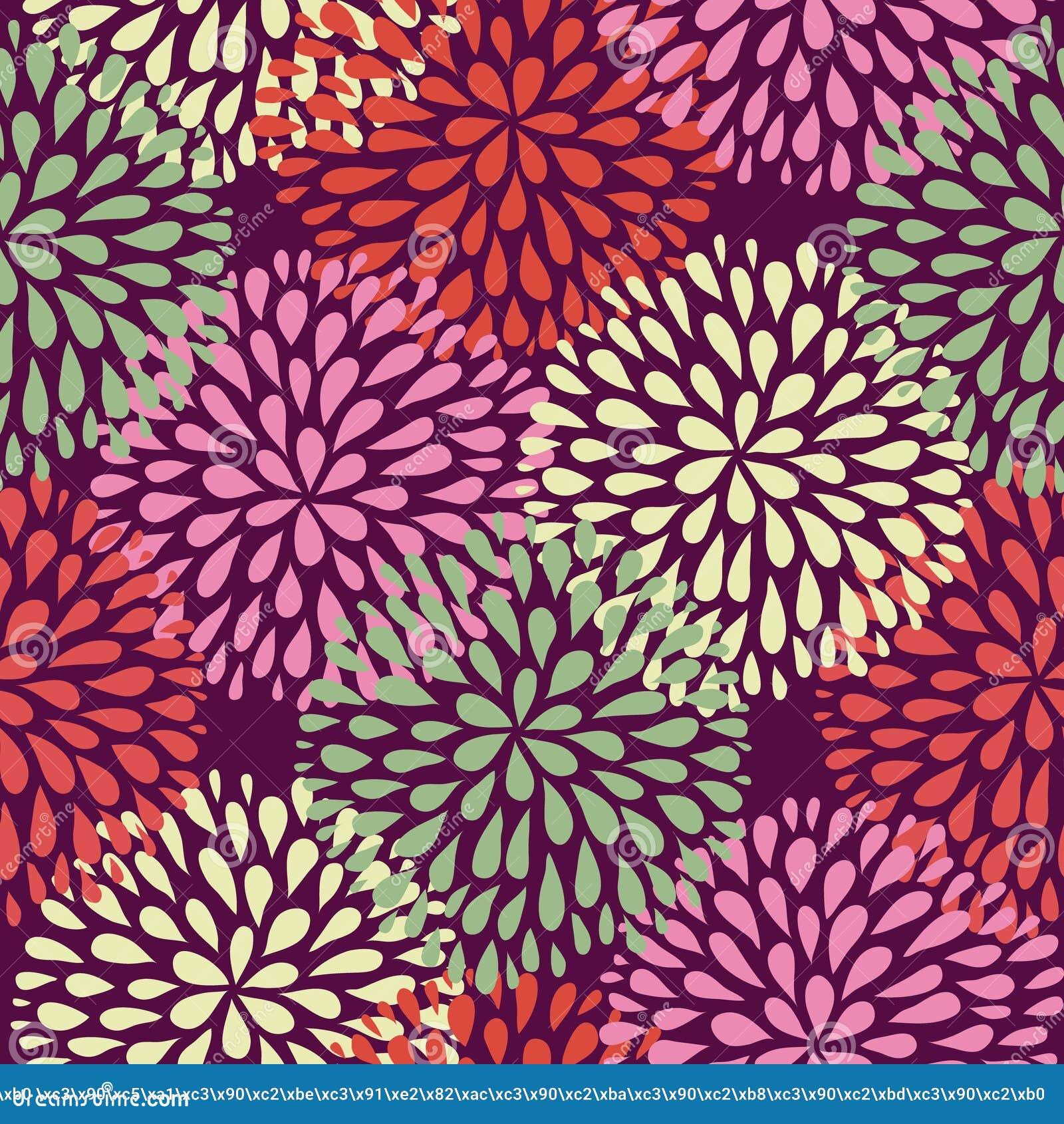 Vector Seamless Pattern. Modern Floral Texture. Element, Foliage.