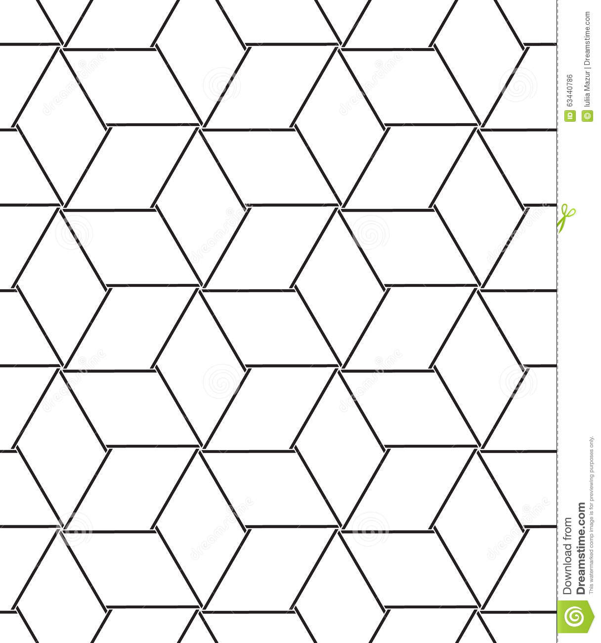 Geometric Line Design Patterns : Vector seamless pattern modern line geometric background