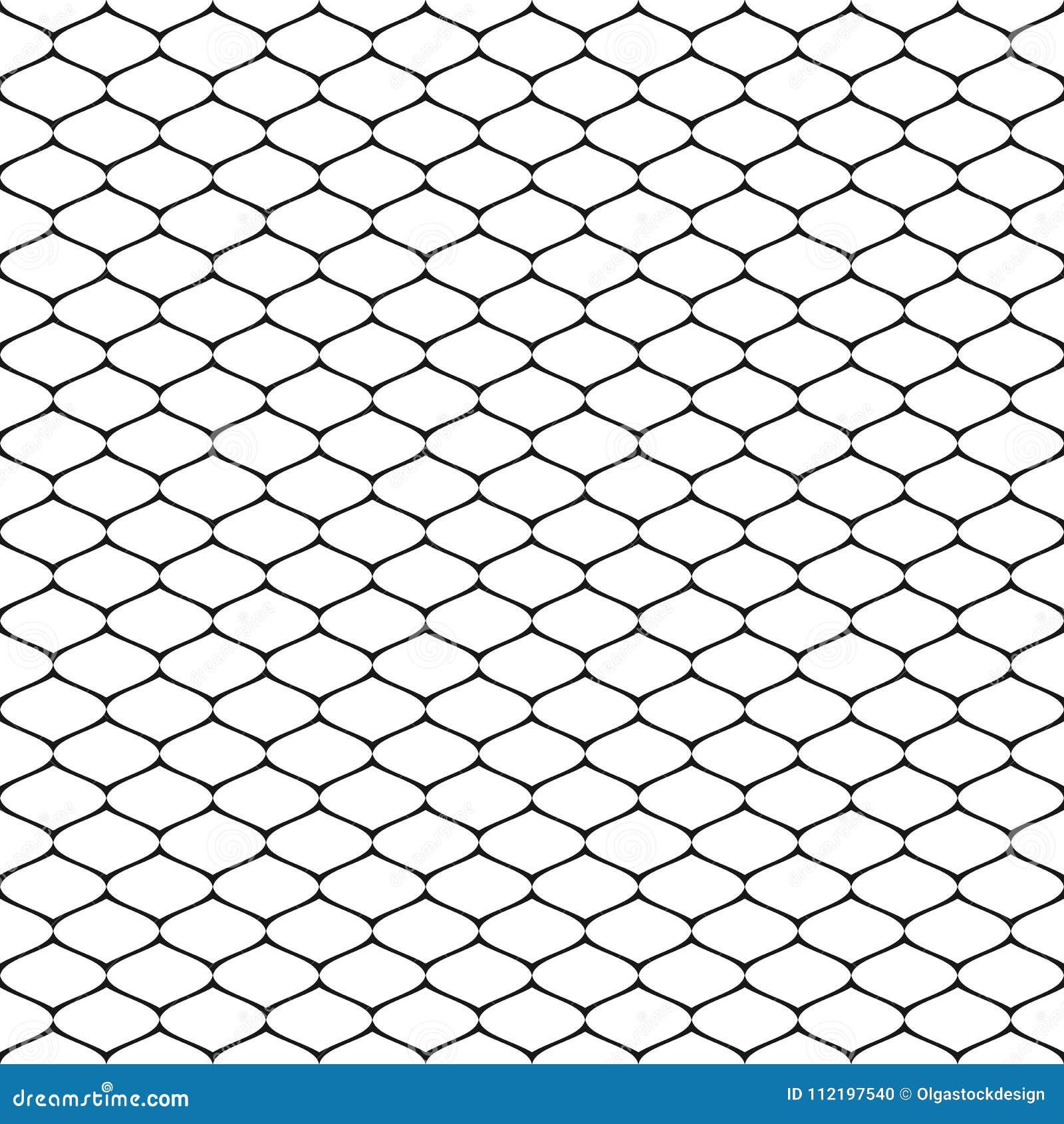 Fishnet Pattern Best Decoration
