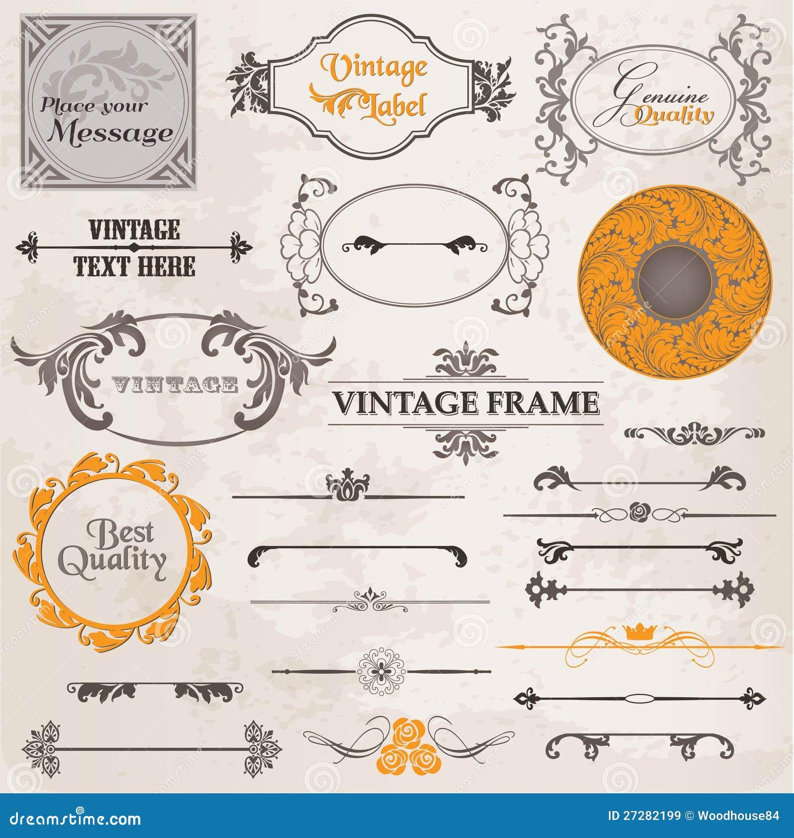 Vector design elements free download pixshark