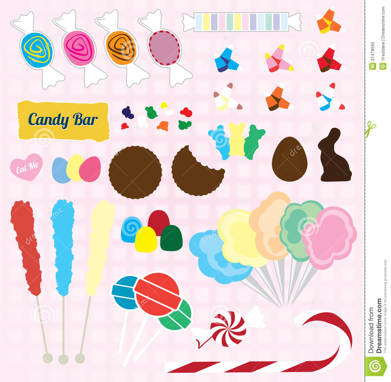 Silver Dreams Candy Completet Sets
