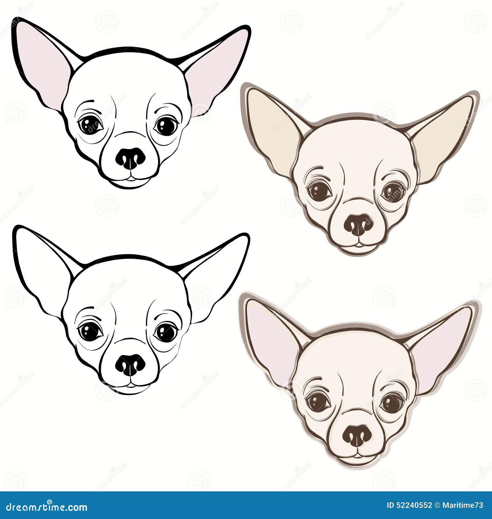 Mejor De Imagenes De Perros Chihuahua Para Colorear