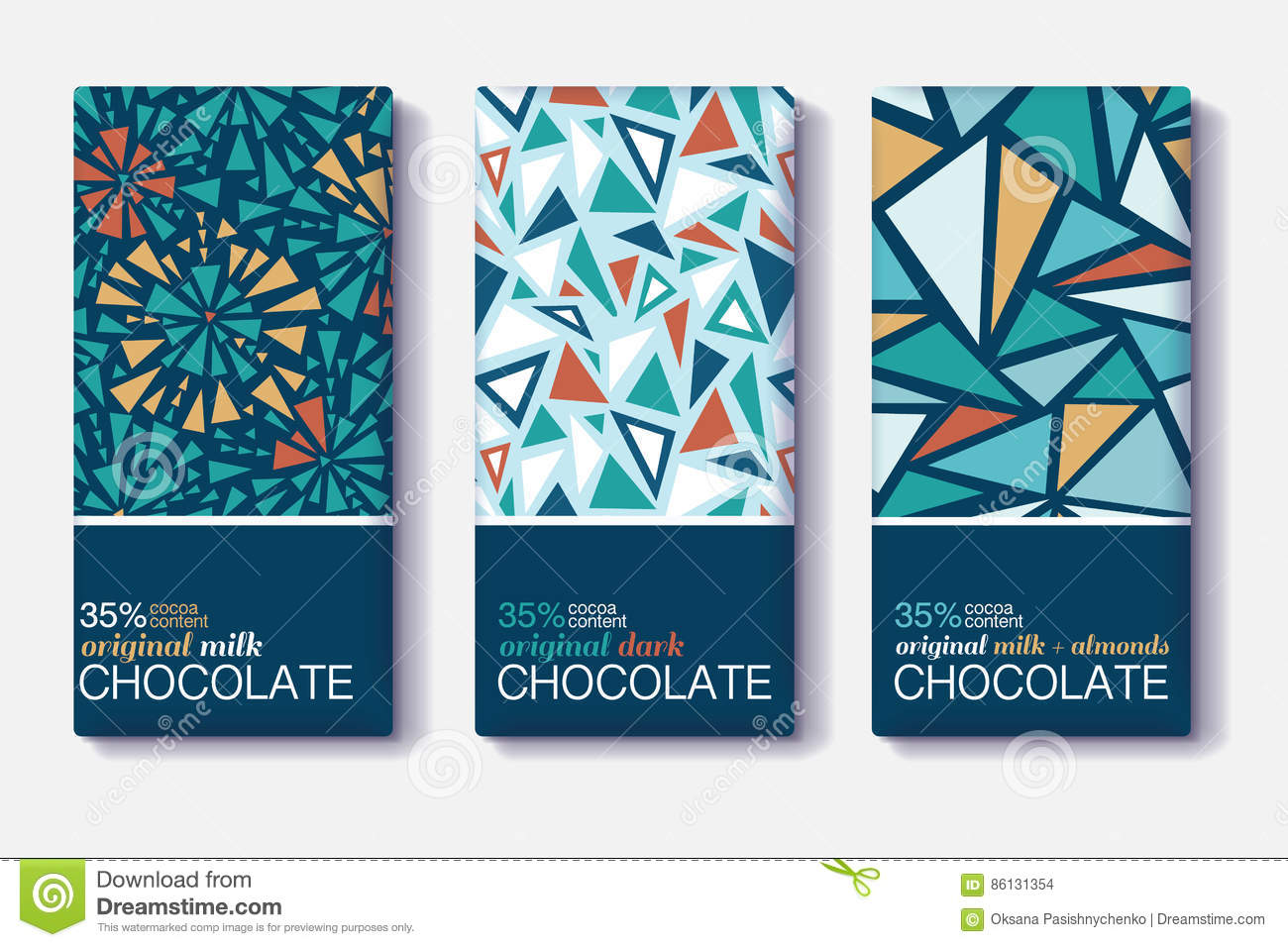 chocolate package design combined with price Illustrative chocolate wrappers showcase the biodiversity of peru — the dieline packaging & branding design & innovation news when candela dreams of eva chocolate package design on behance | fivestar branding - design and branding agency & inspiration gallery.