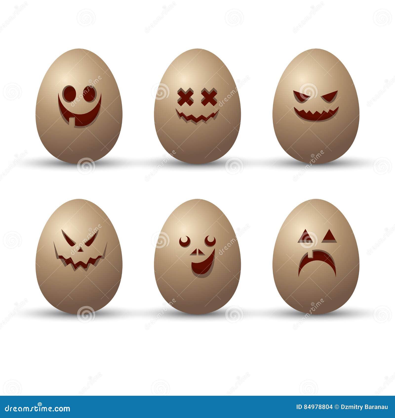 funny eggs emotion mood - photo #40
