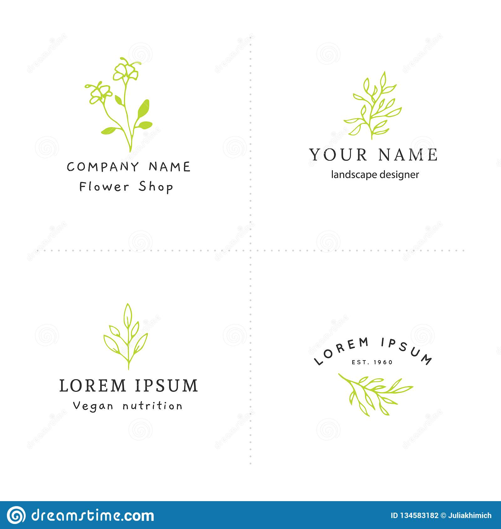 Floral Business Logotypes