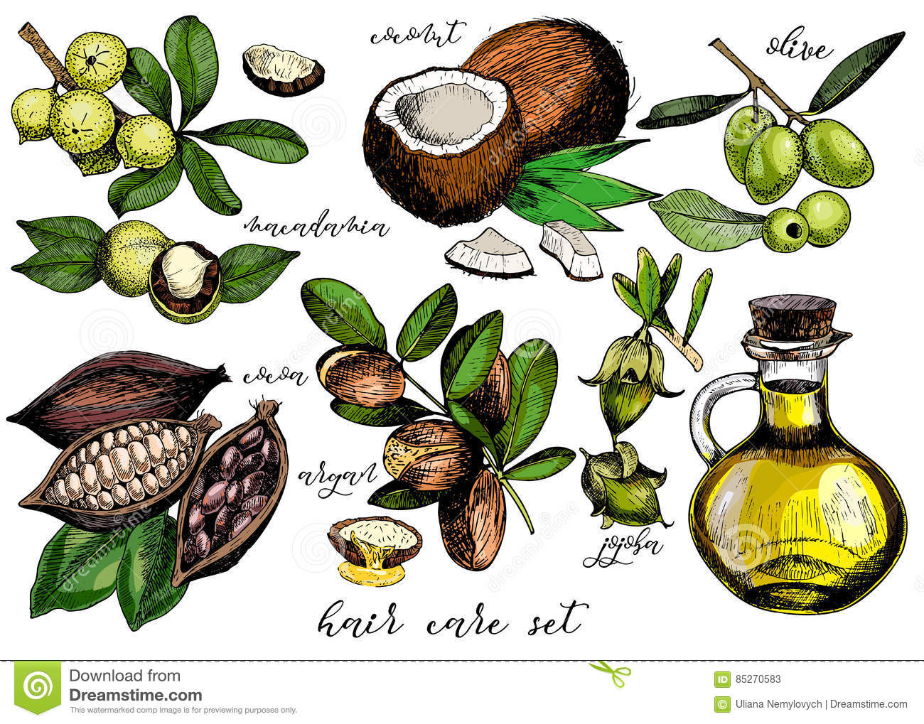 Macadamia Natural Oil Ingredients
