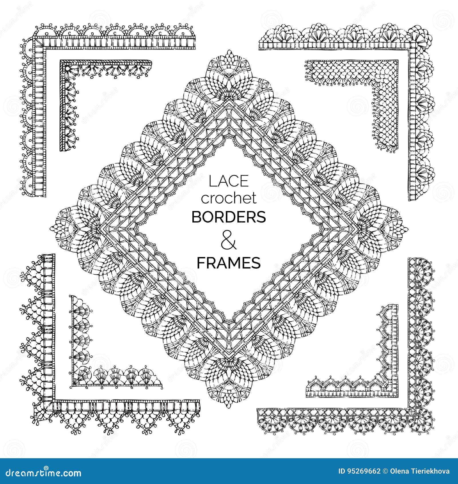 Hermosa Crochet Borders Patterns Inspiración - Ideas de Patrones de ...