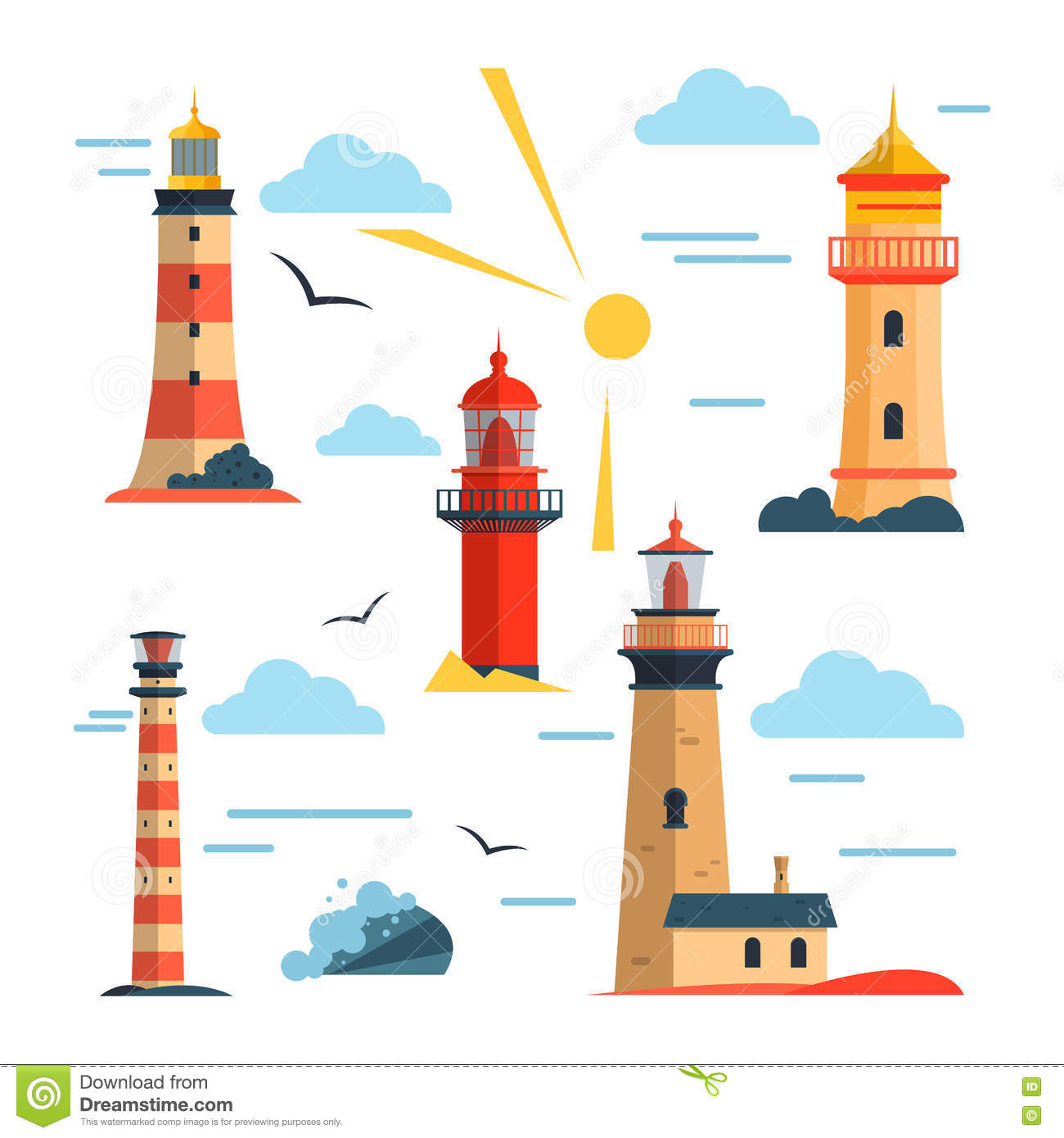 How to set the lighthouses 28
