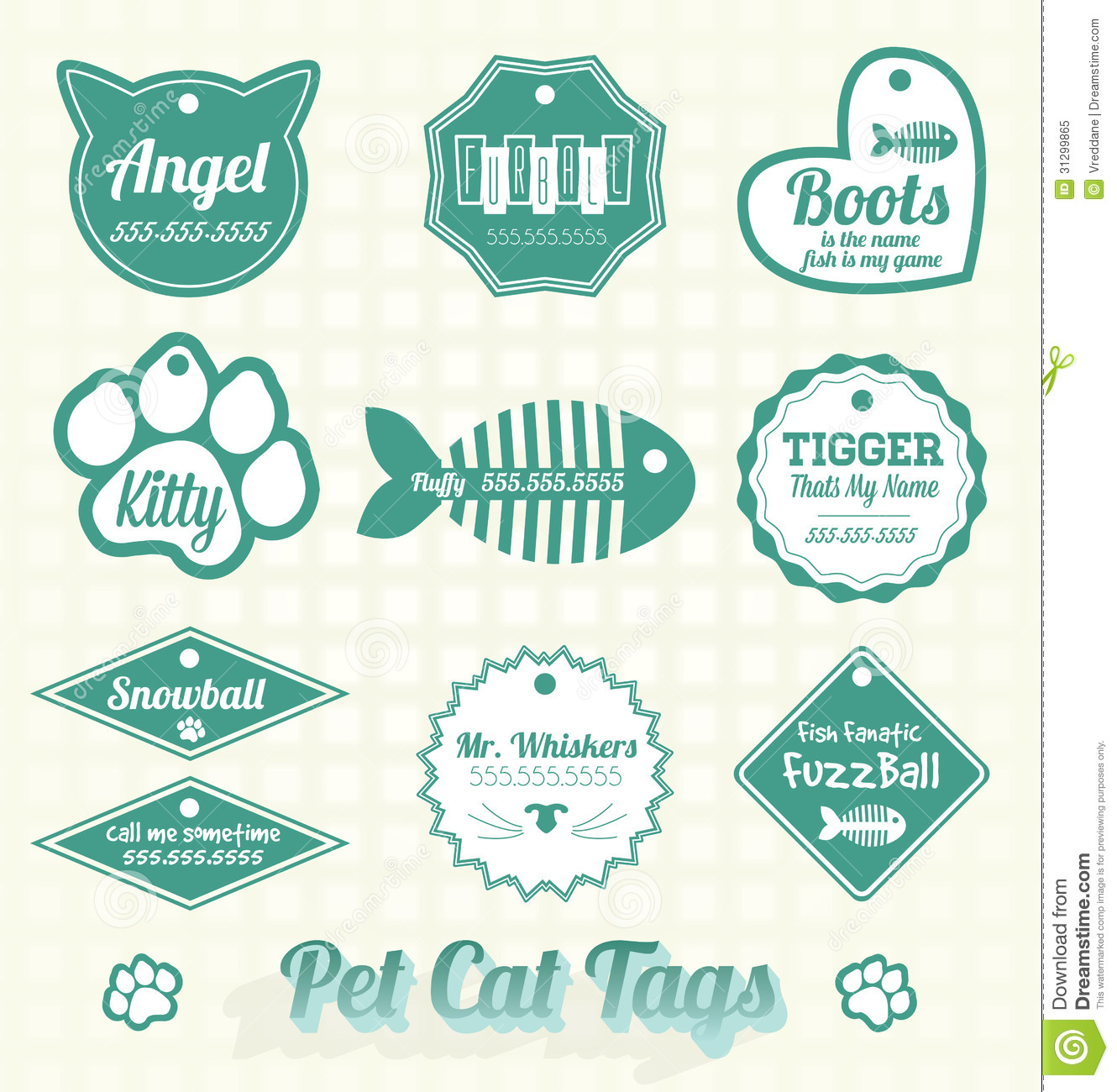 animal identification tag
