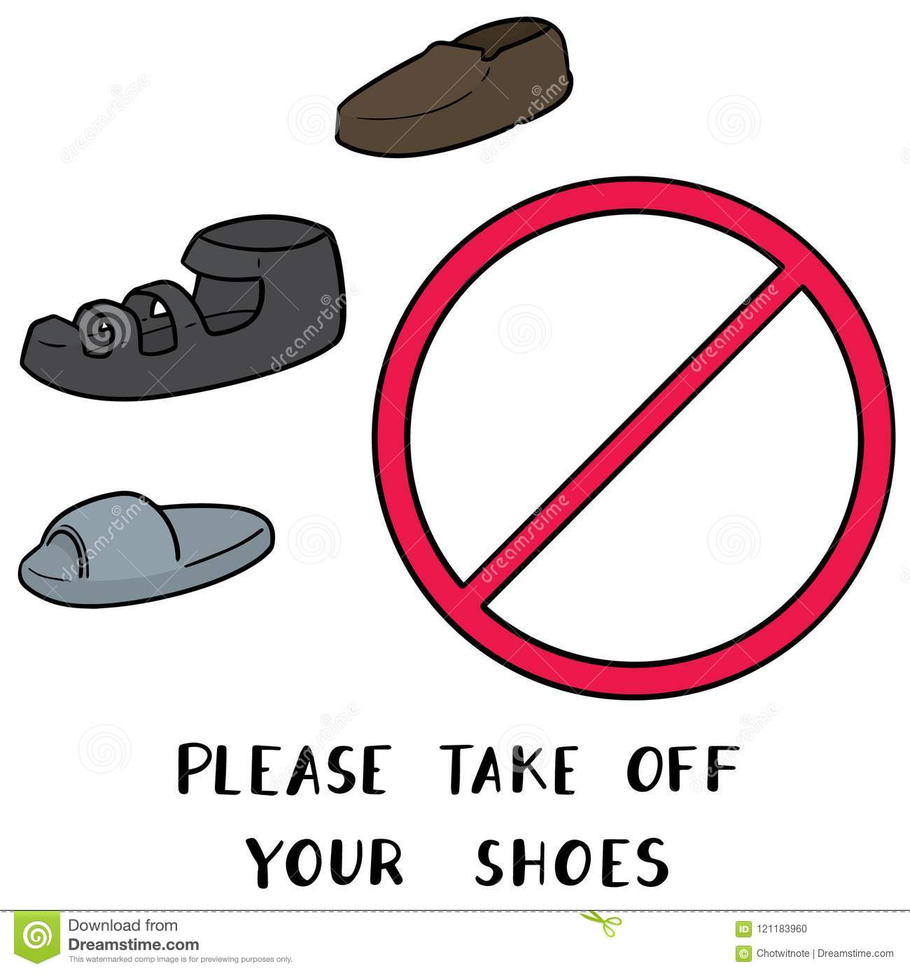 photograph regarding Please Take Off Your Shoes Sign Printable referred to as Just take Off Sneakers Indication Inventory Examples 15 Consider Off Footwear