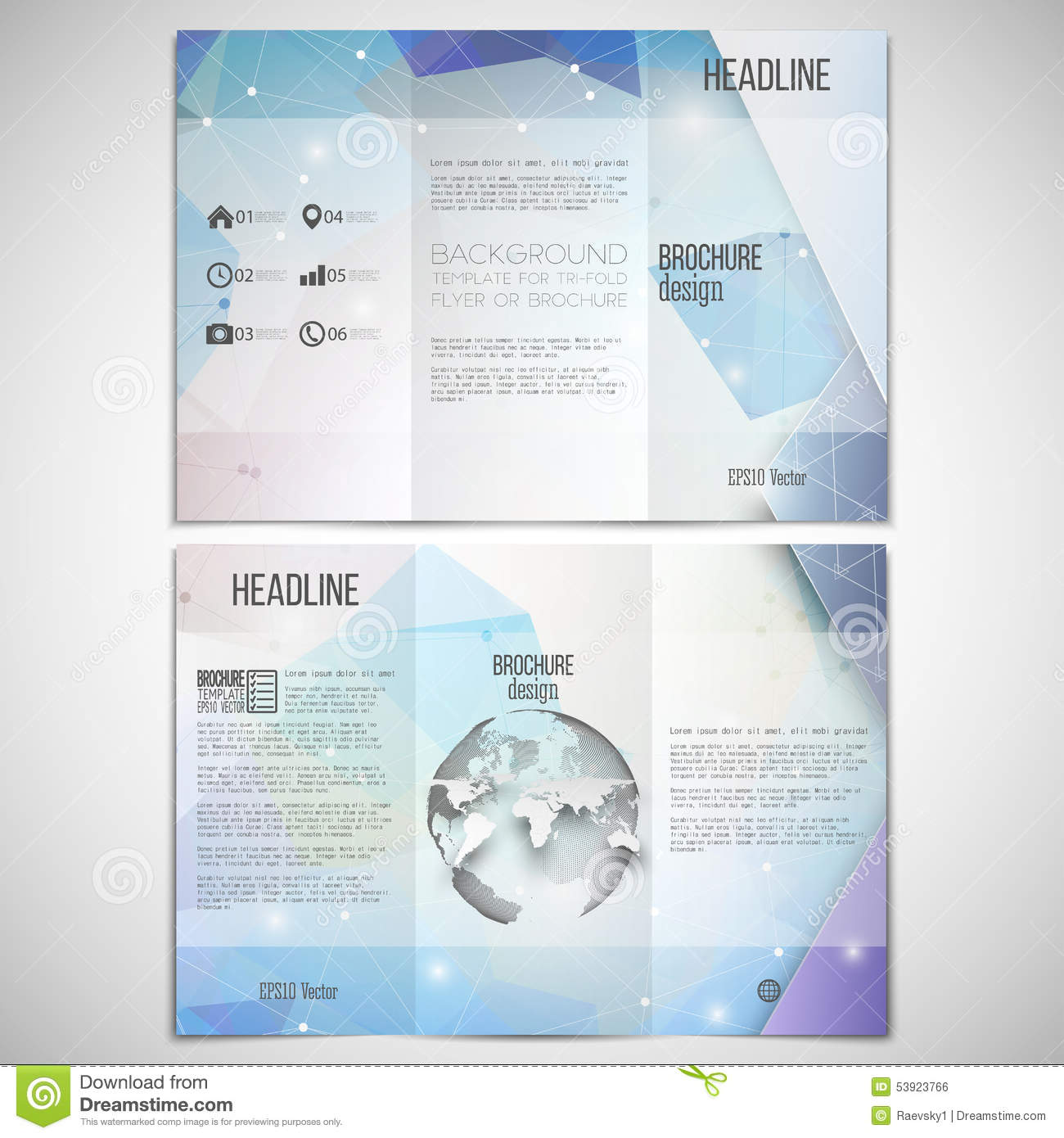 science brochure template - science brochure template lightworksme tri fold brochure