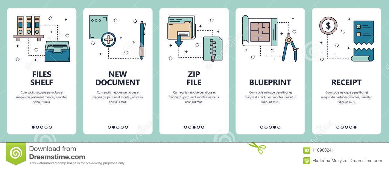 Vector line art web and mobile app template set stock vector download vector line art web and mobile app template set stock vector illustration of receive malvernweather Gallery