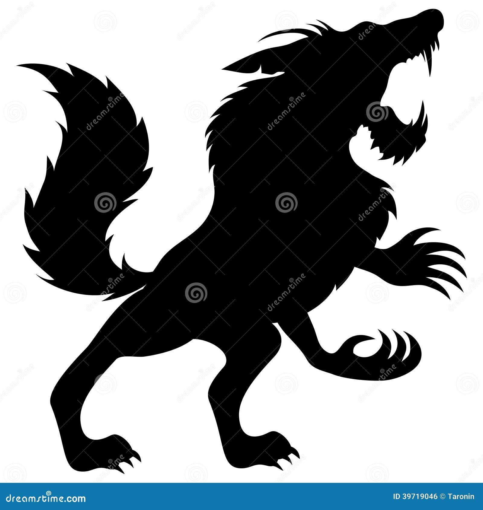 2ed59c6f5 Vector sign. Werewolf. stock vector. Illustration of animal - 39719046