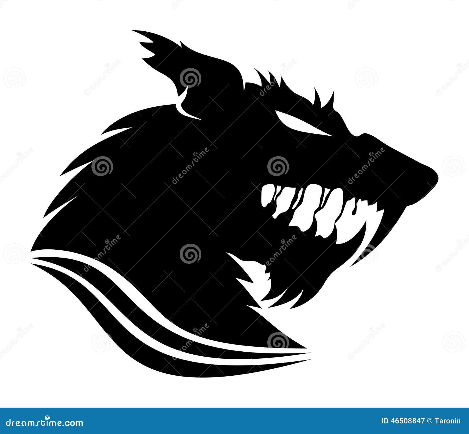 d1fa0da54 Vector sign. Werewolf. stock vector. Illustration of fantasy - 46508847