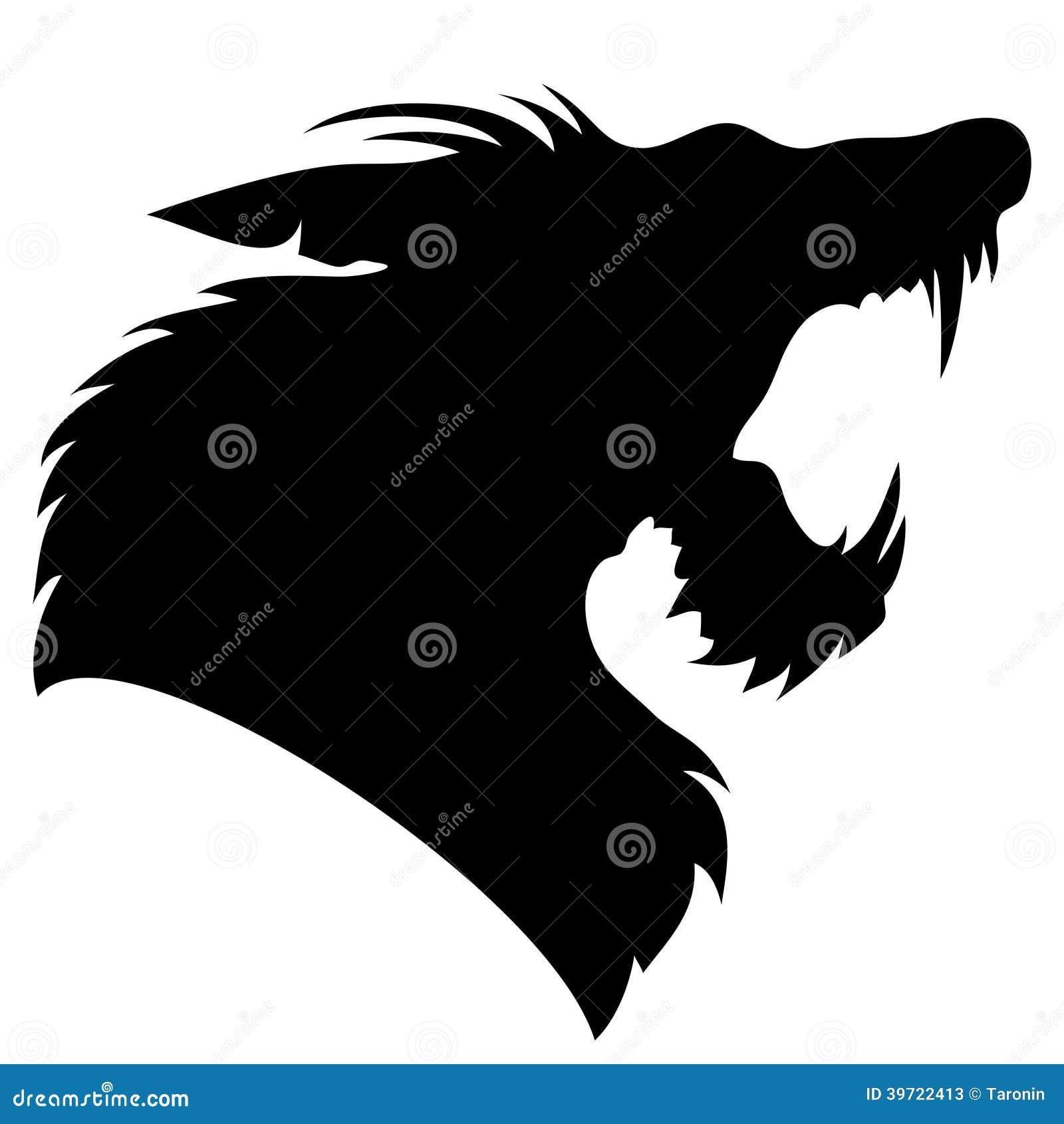 b54a3763b Vector sign. Werewolf. stock vector. Illustration of print - 39722413