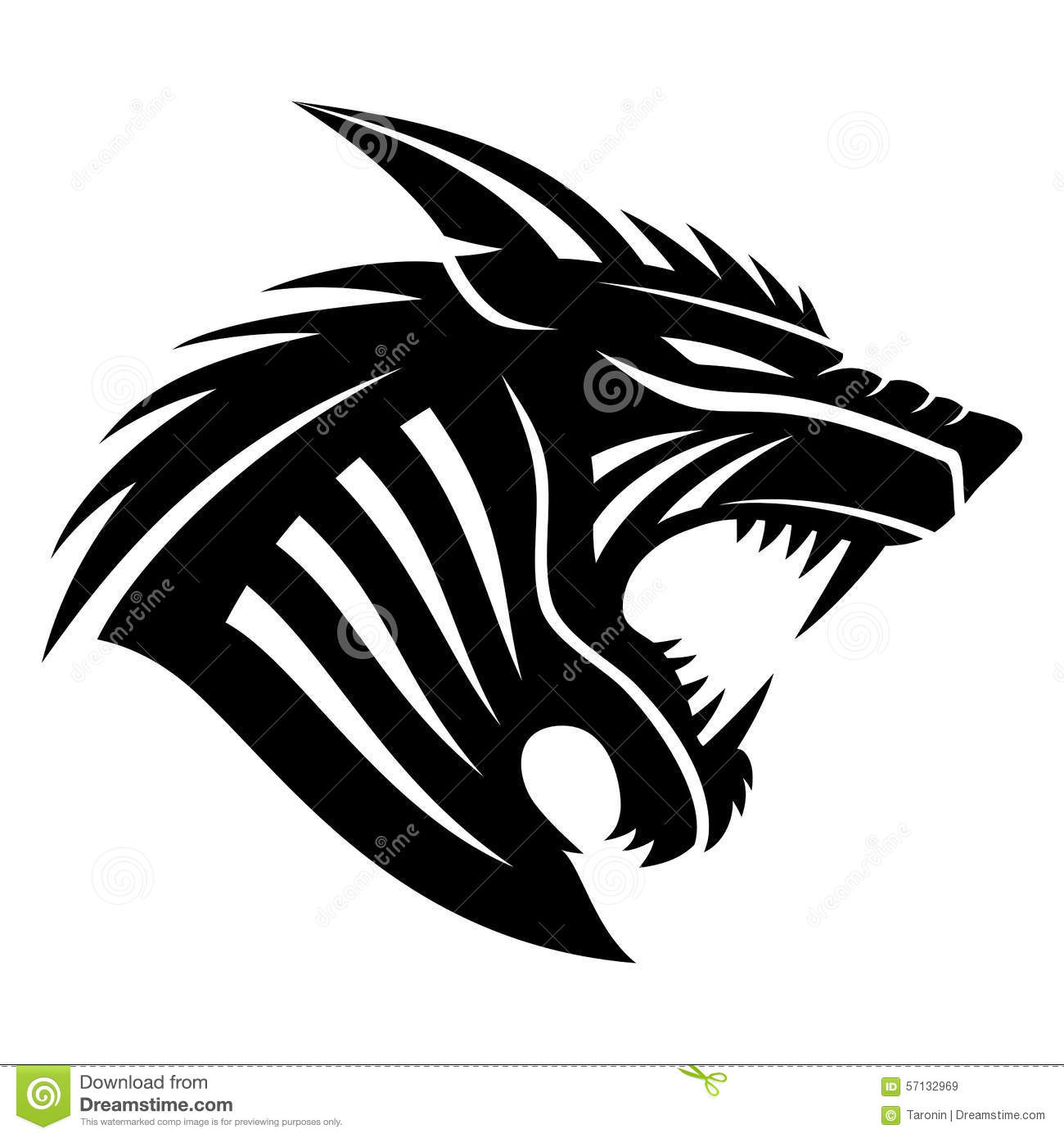 140fe58dc Vector sign. Werewolf. stock vector. Illustration of template - 57132969
