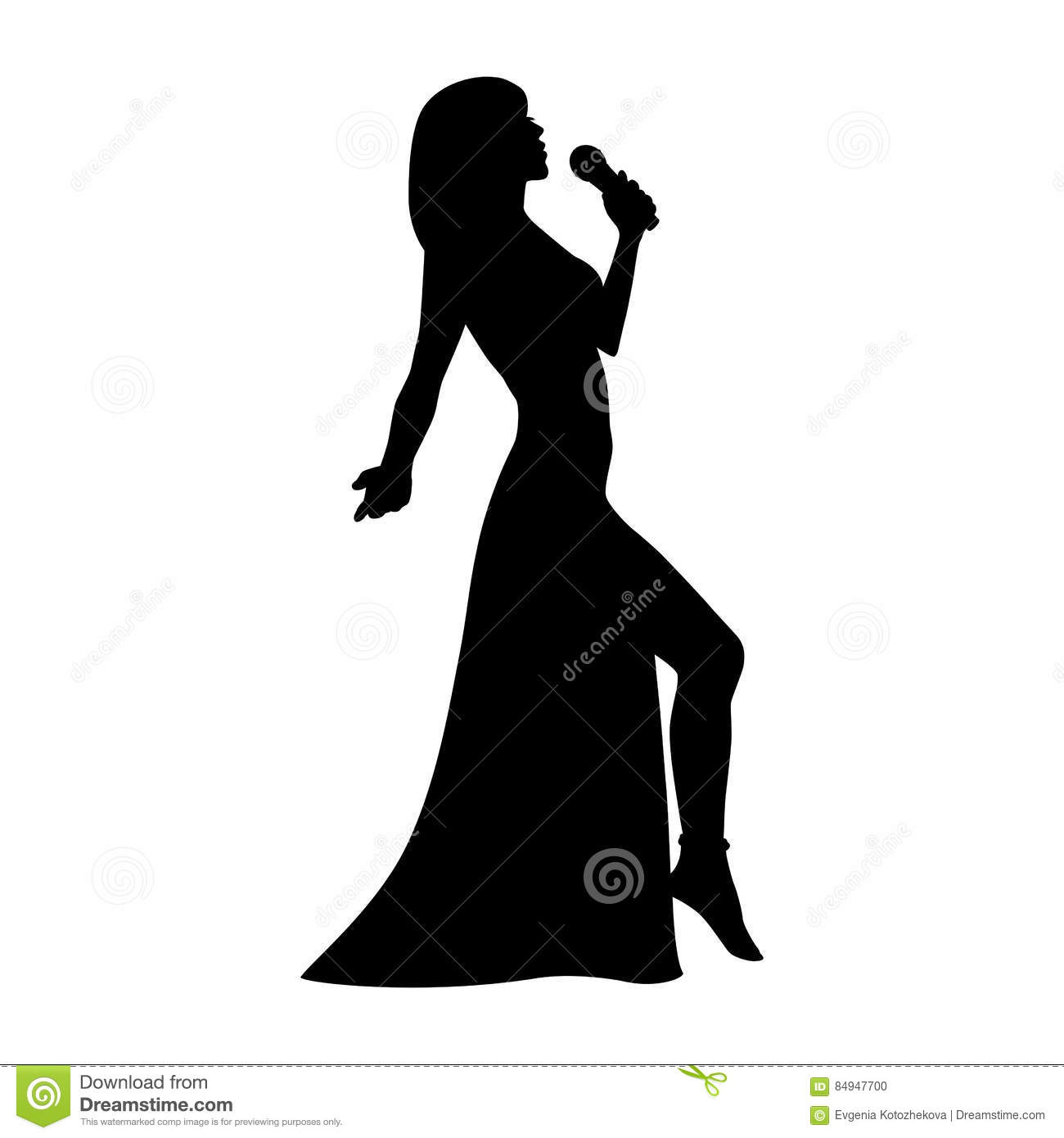 Opera Singer Silhouette Pictures to Pin on Pinterest ...