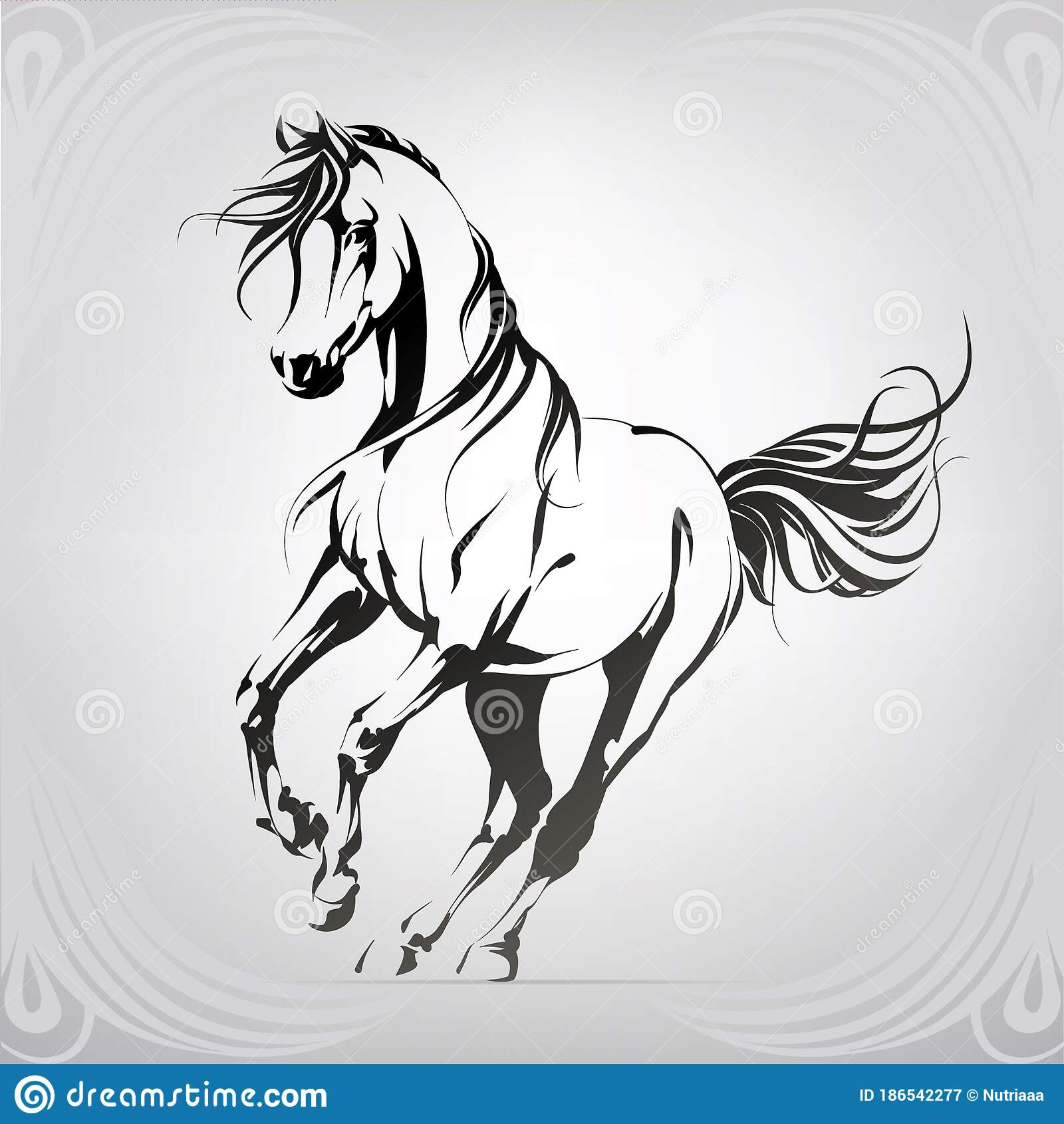 Running Horse Stock Illustrations 9 789 Running Horse Stock Illustrations Vectors Clipart Dreamstime