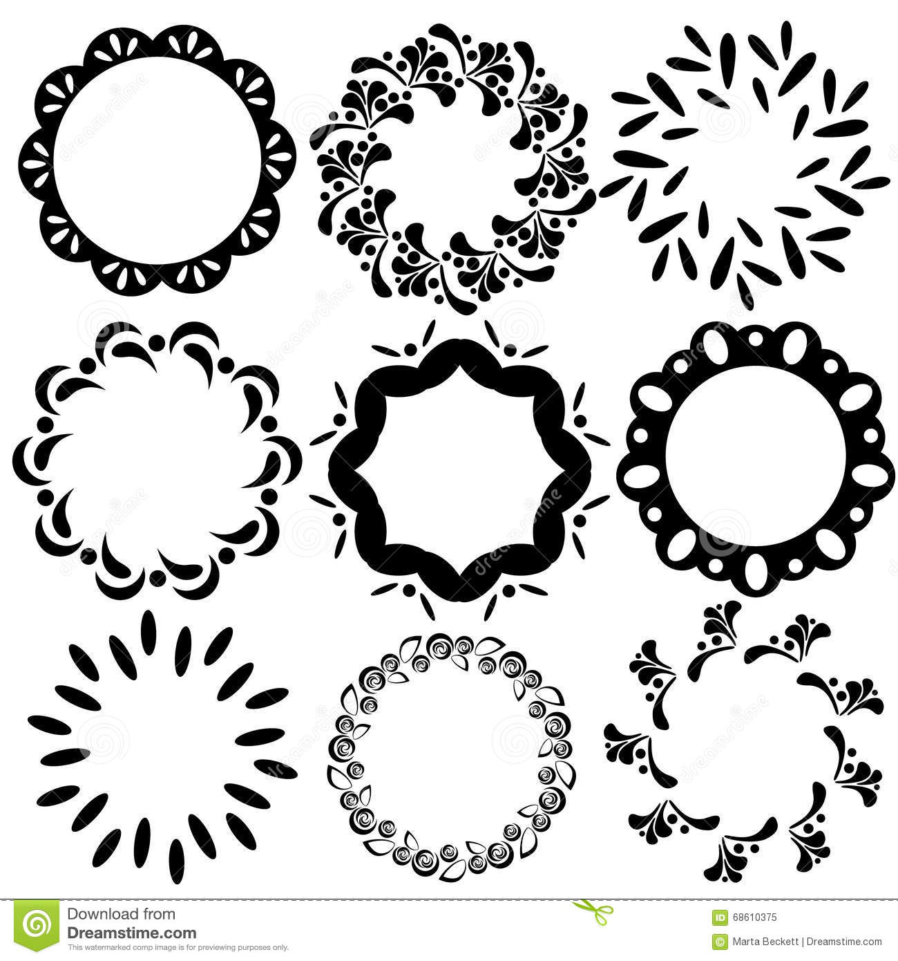 Simple floral ornament background vector 02 - Vector Background ...