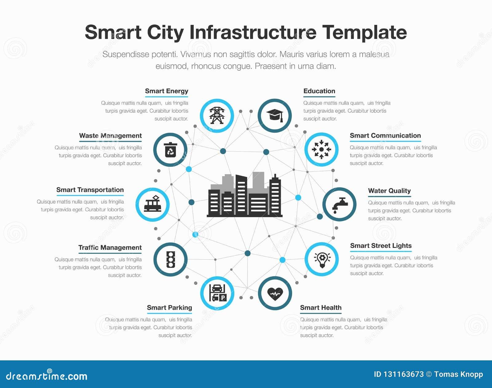 Vector simple infographic para la infraestructura elegante de la ciudad con los iconos y el lugar para su contenido