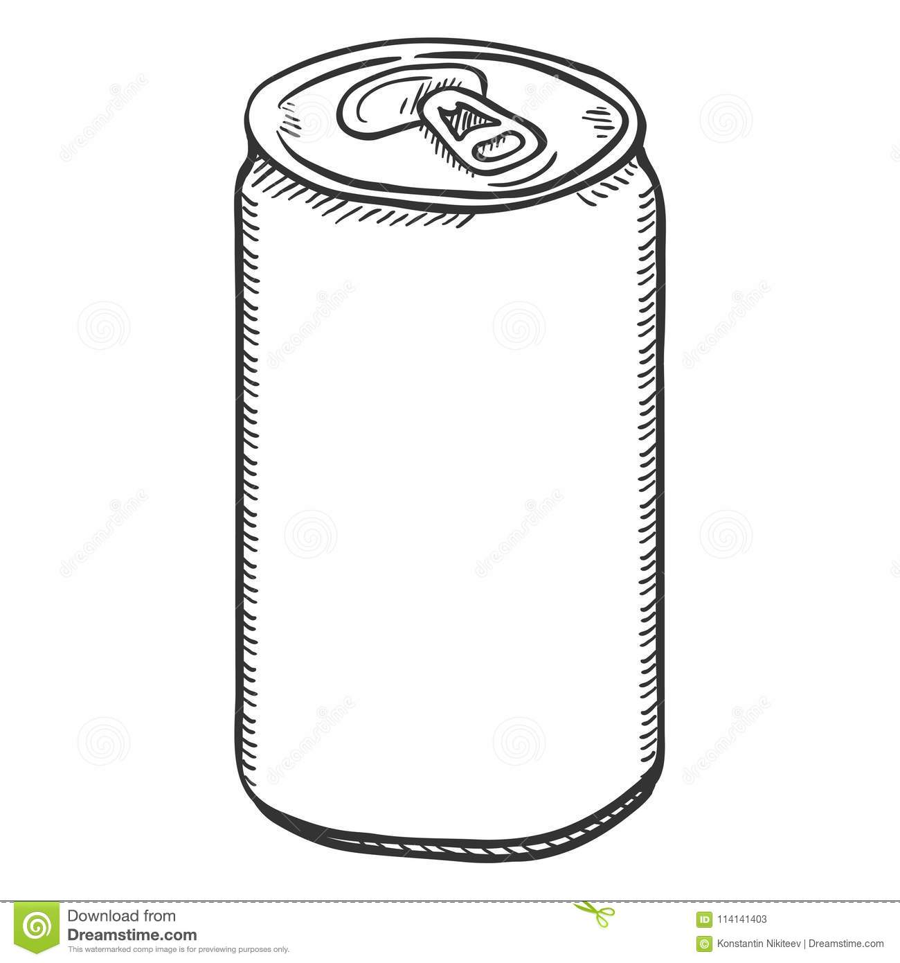 Blank Beer Can Stock Illustrations 3069 Vectors Clipart