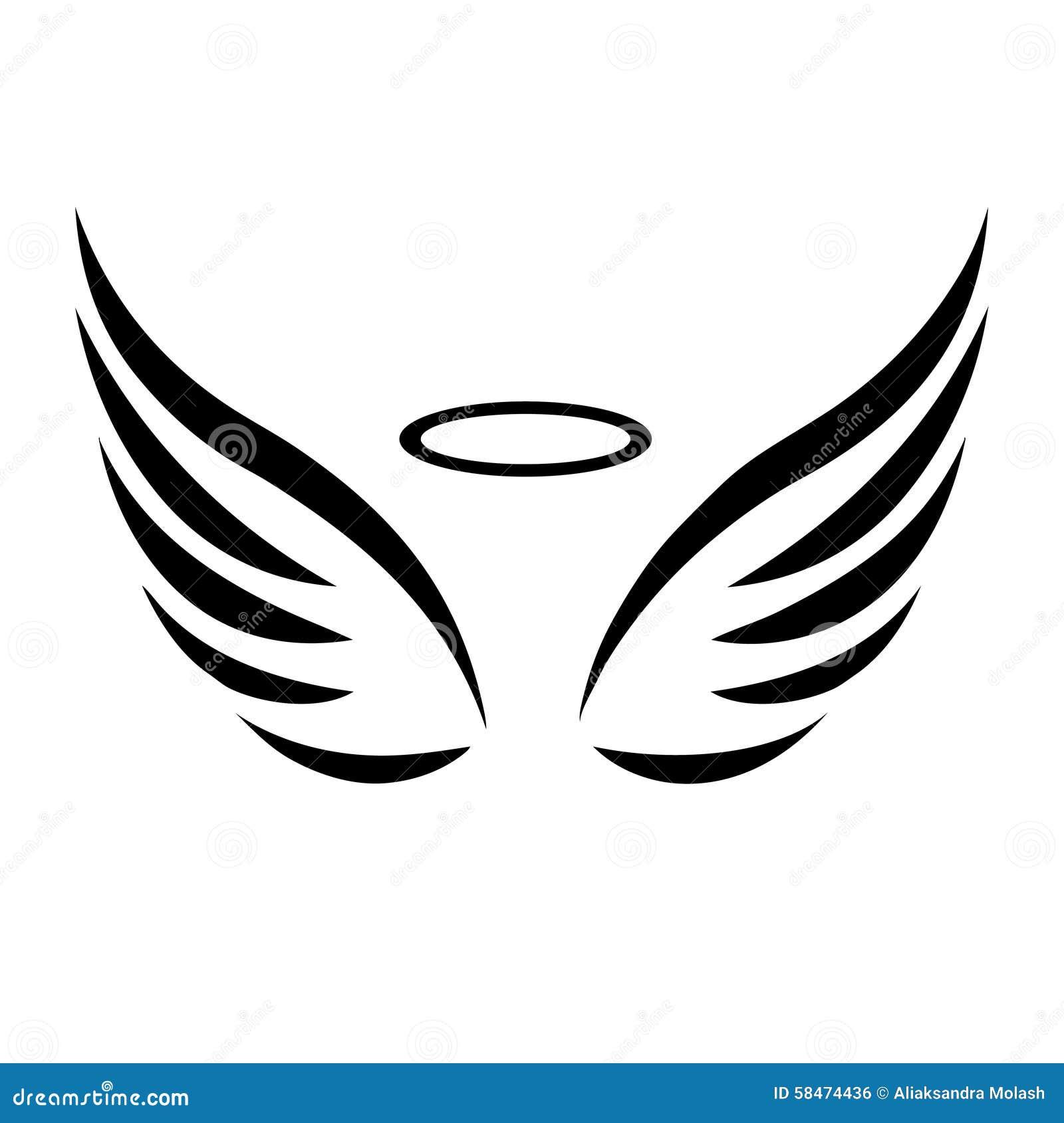 vector sketch of angel wings stock vector image 58474436 old couple clipart images old couple clipart free