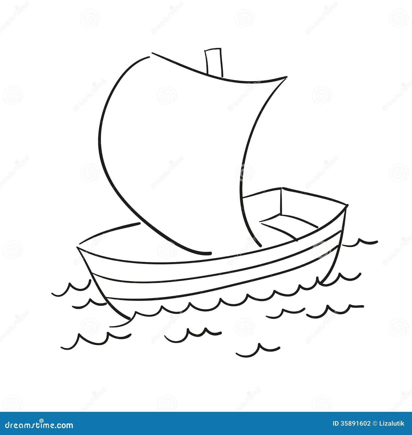 Лодка с мотором раскраска