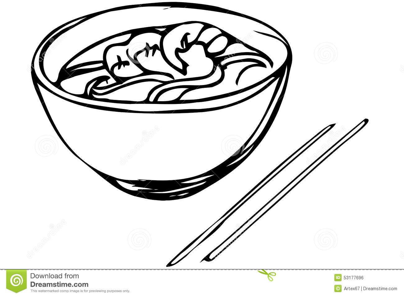 chinese noodles stock illustrations 1 686 chinese noodles stock rh dreamstime com Chef Hat Clip Art Grocery Cart Clip Art