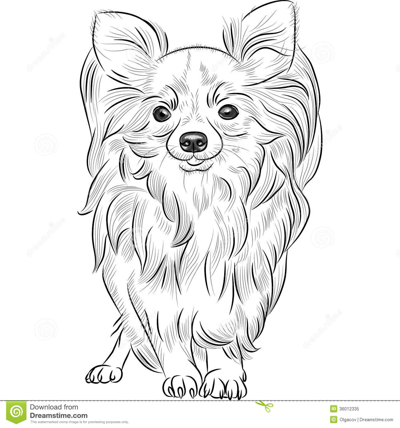 A Drawing Of A Hurt Dog For Kids