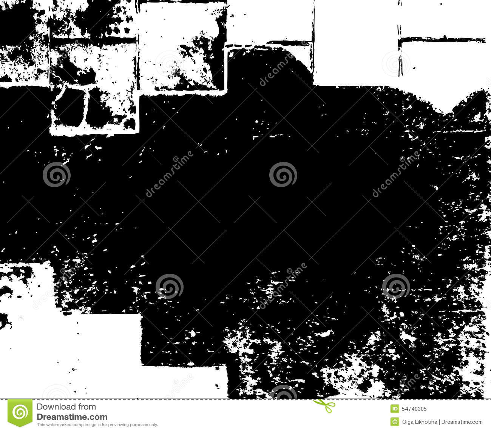 Vector of Sketch Grunge Dirt Overlay Texture