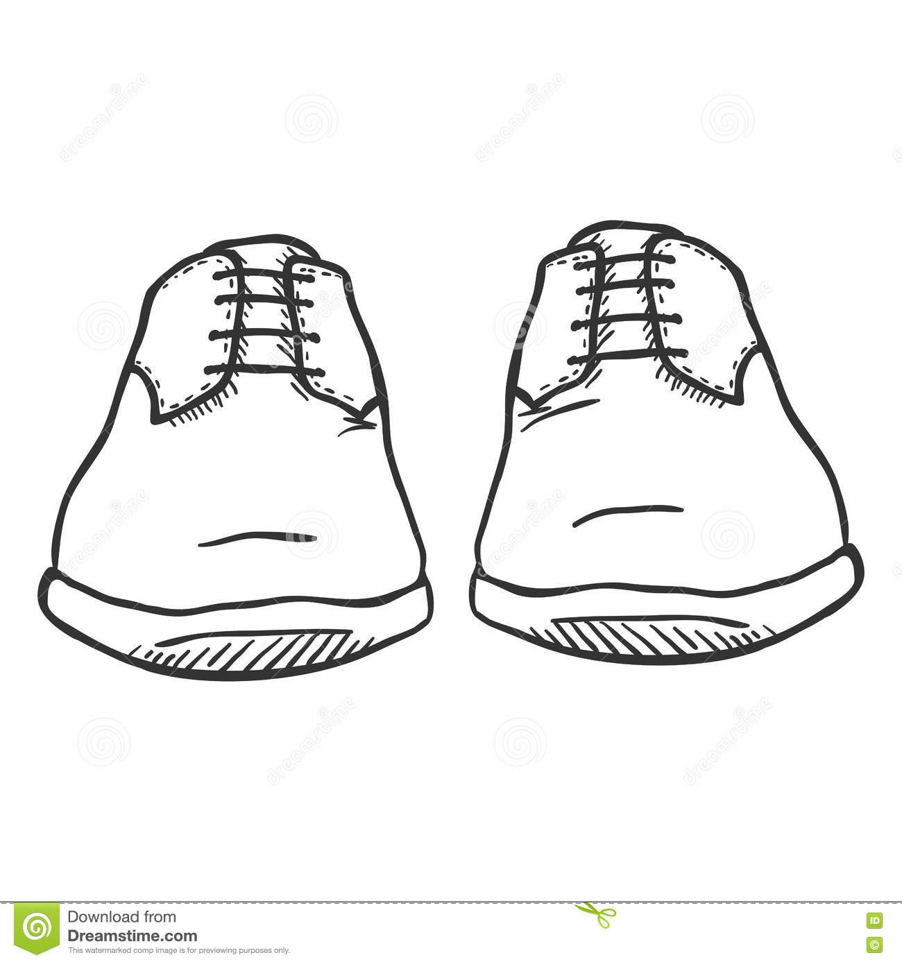 how to draw boots front view - photo #24