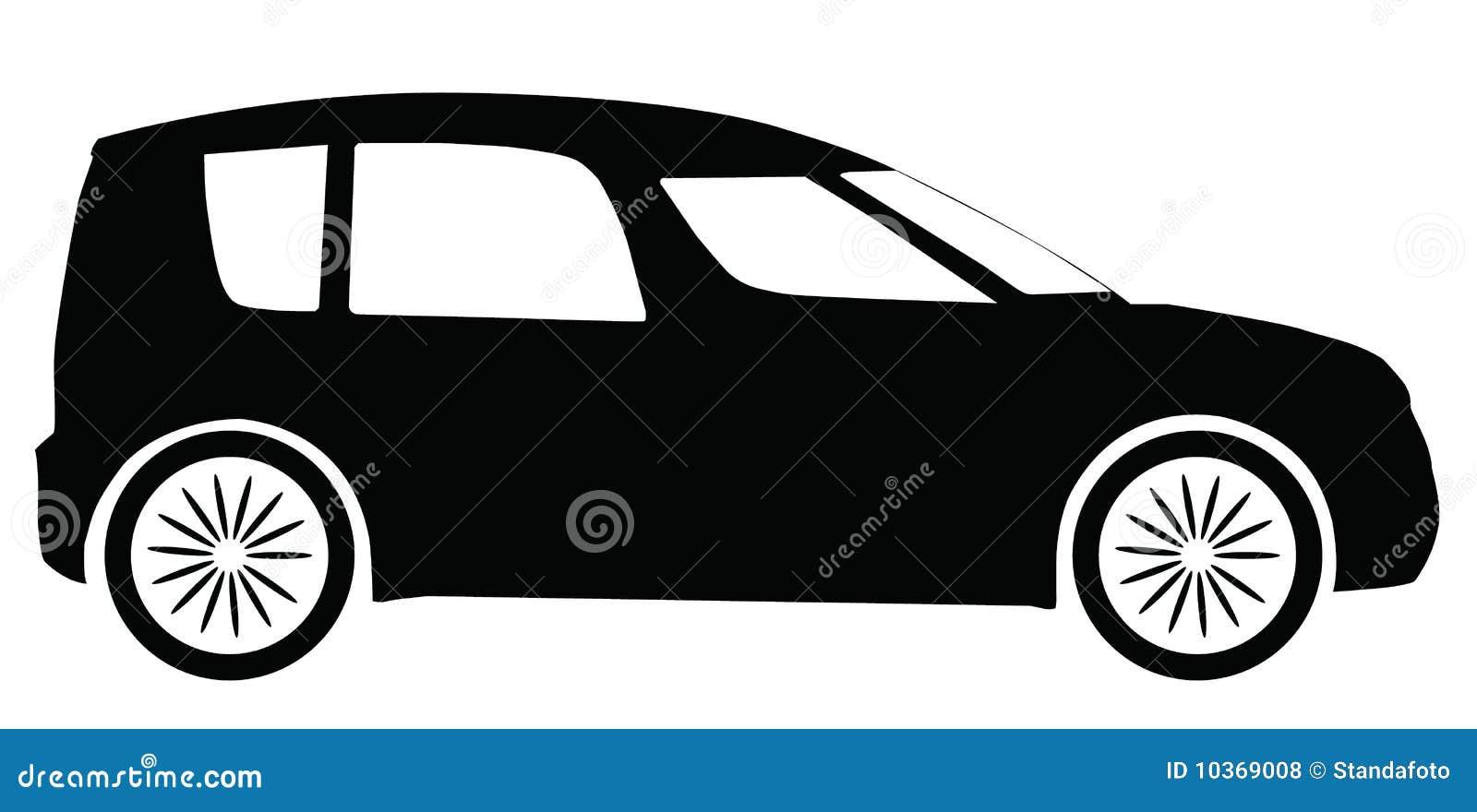 Vector Skoda Roomster Car Silhouette Royalty Free Stock Photos ...