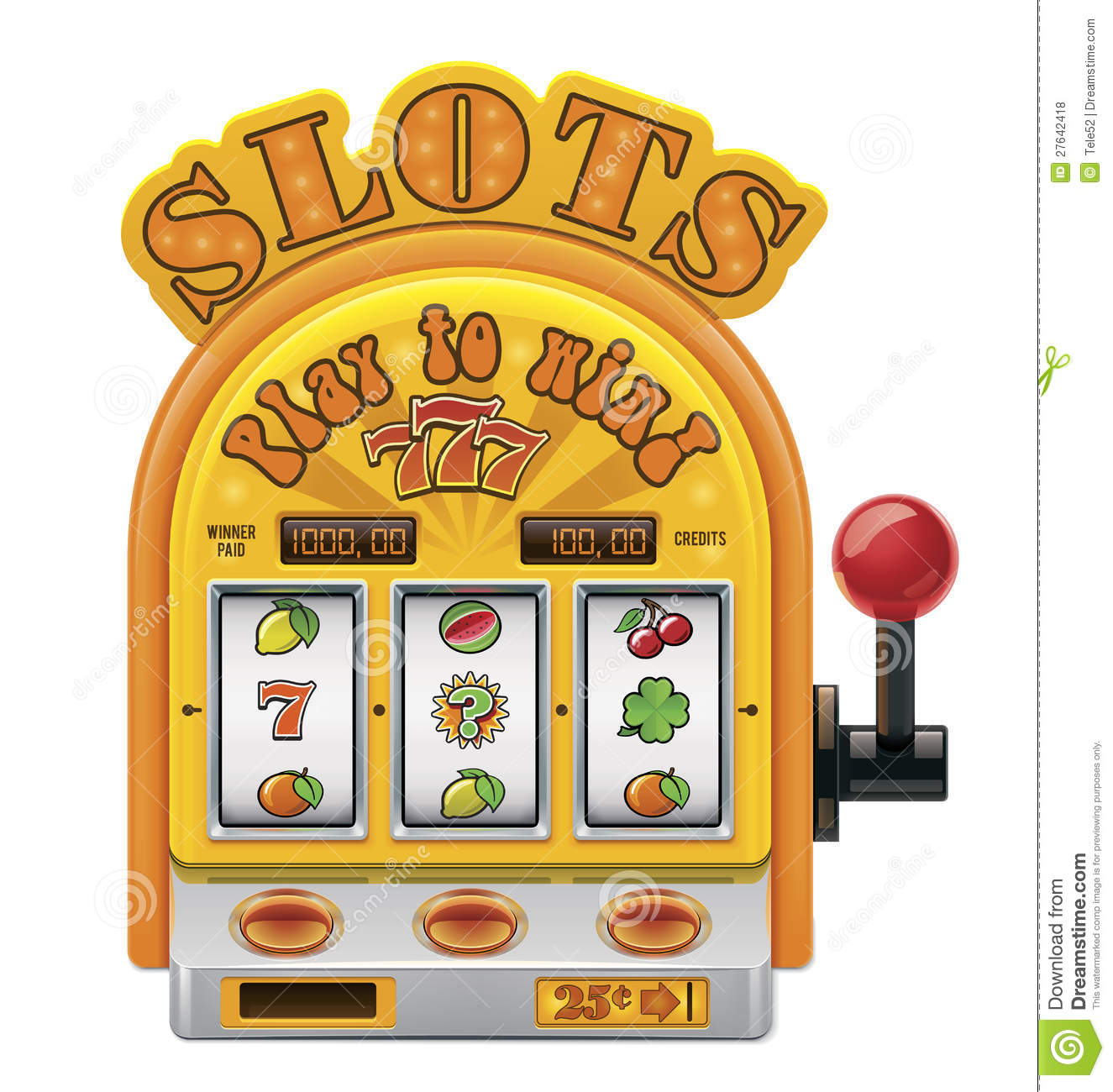 slot machine vector free