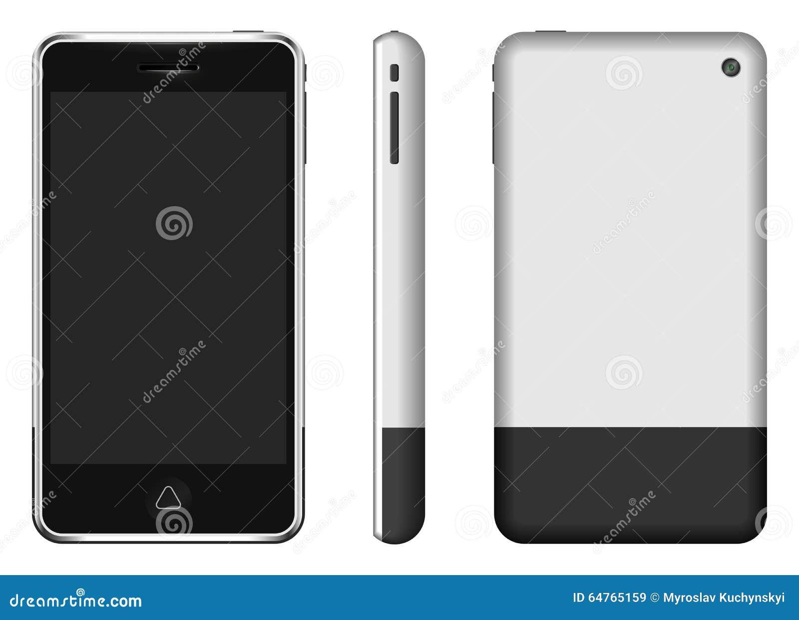 Vector smartphone stock illustration. Illustration of ...
