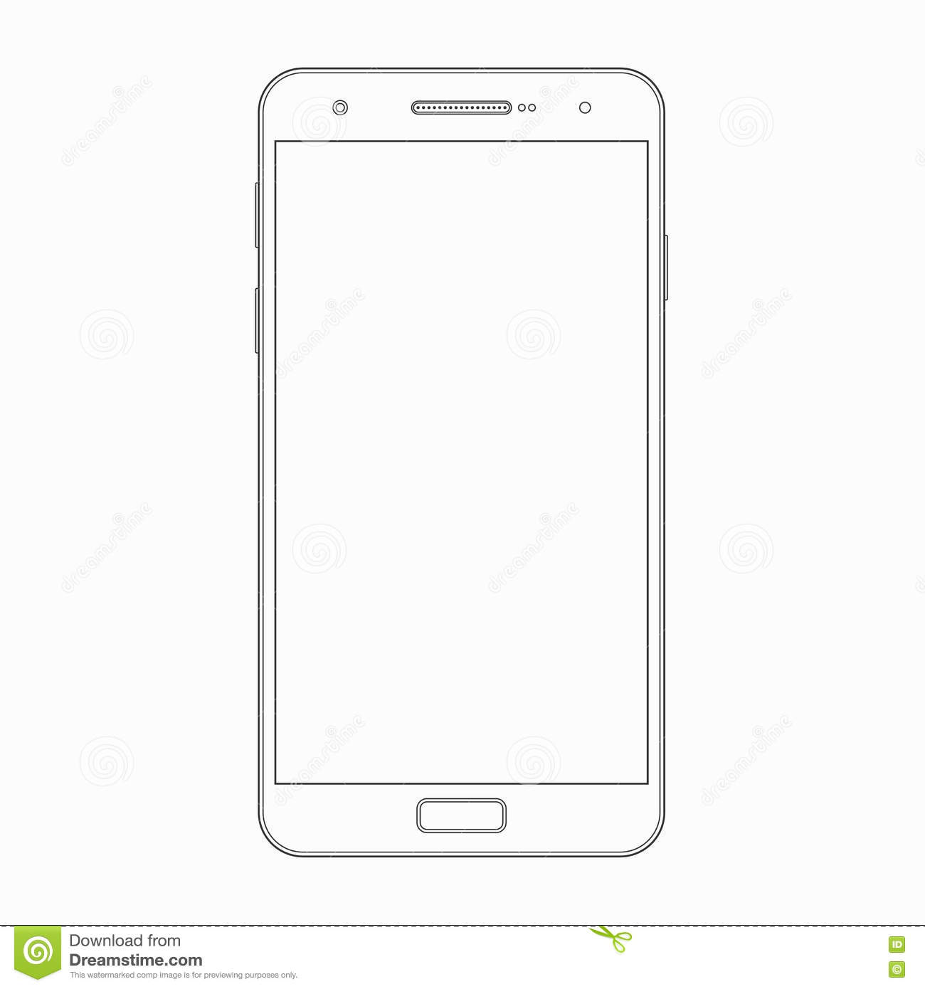 cell phone template selo l ink co