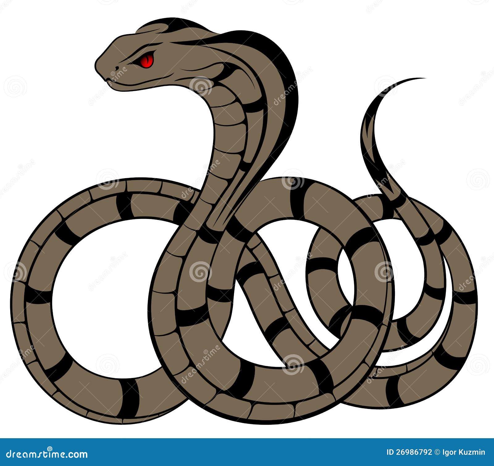 Vector Snake, Cobra Stock Photography - Image: 26986792