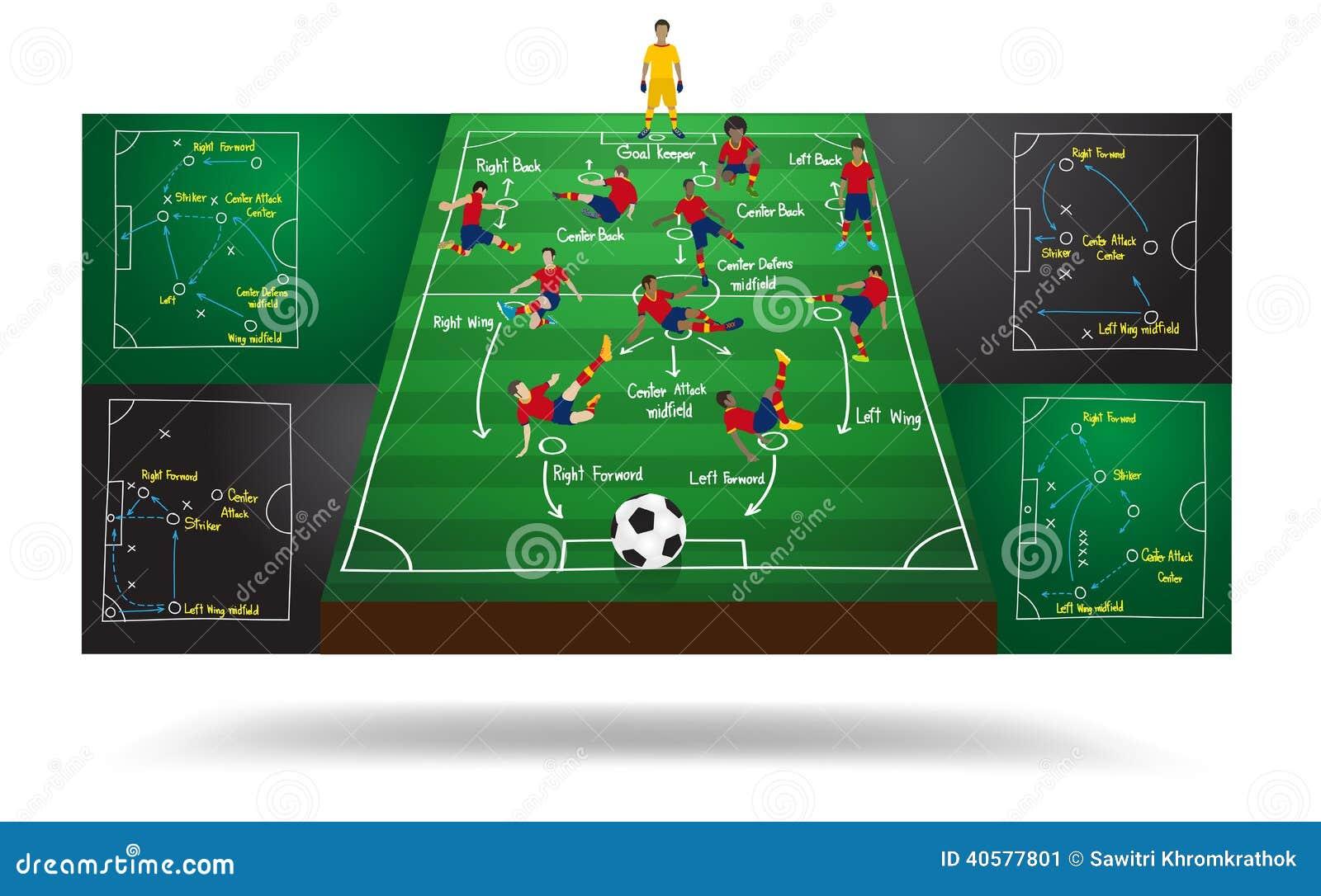 Vector Spanish National Team Soccer Football Player Stock Vector
