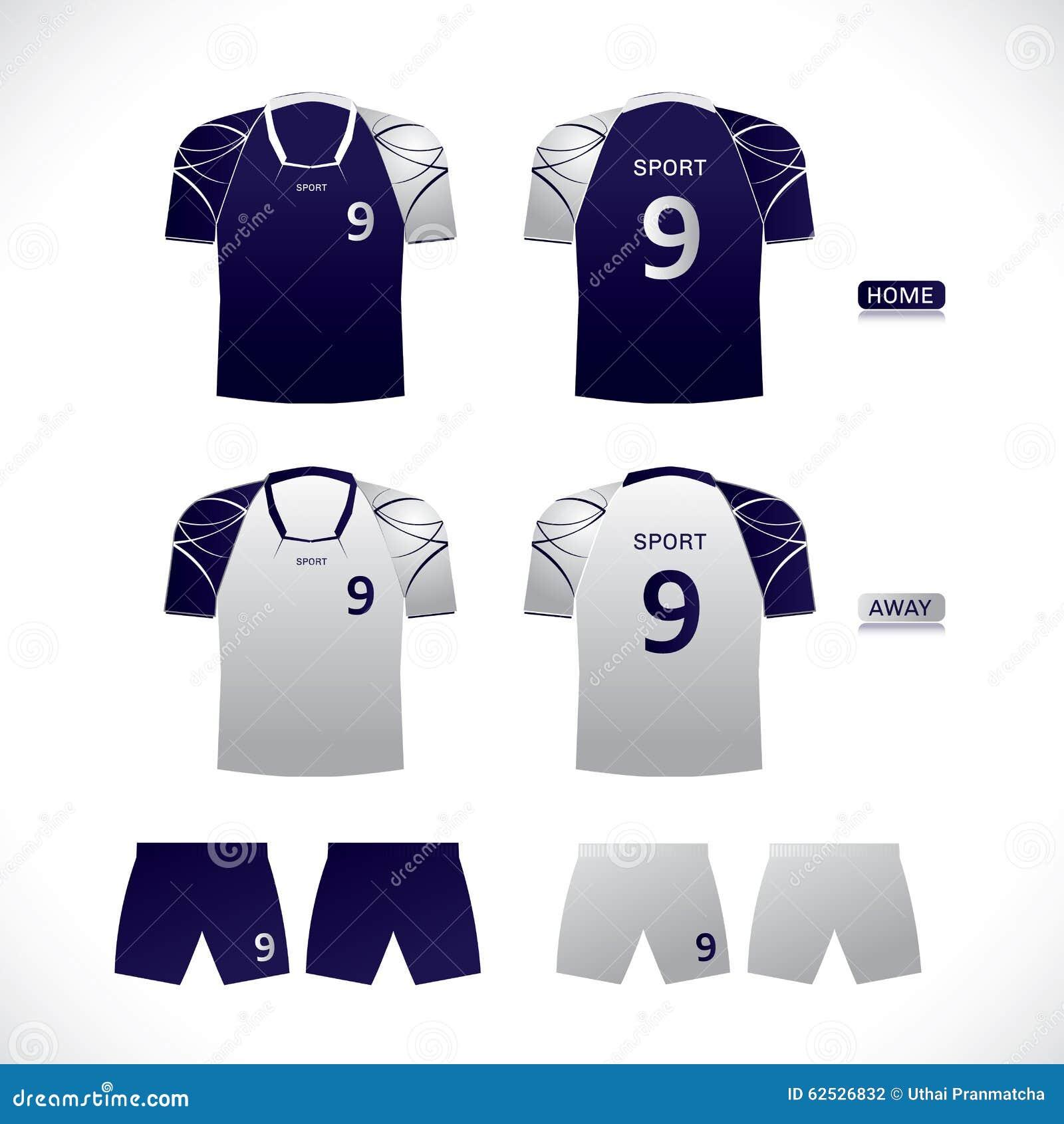 Shirt uniform design vector - Vector Sport Player Uniform Design