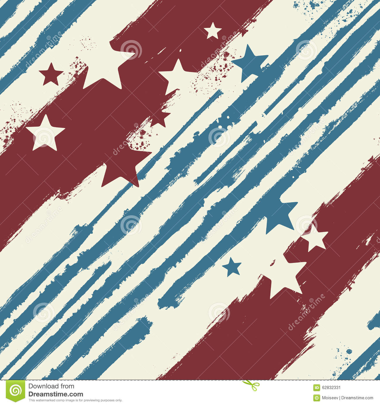 stars and stripes coloring pages - vector stars and stripes seamless pattern stock vector