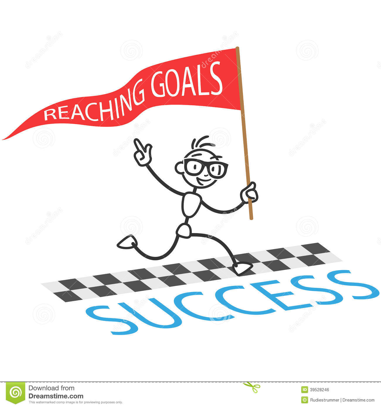Success In Reaching Goals Is Determined By Mindset