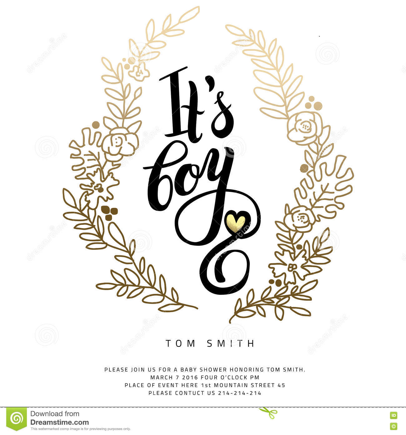 Vector Sticker With Gold Foil  Stock Vector - Illustration