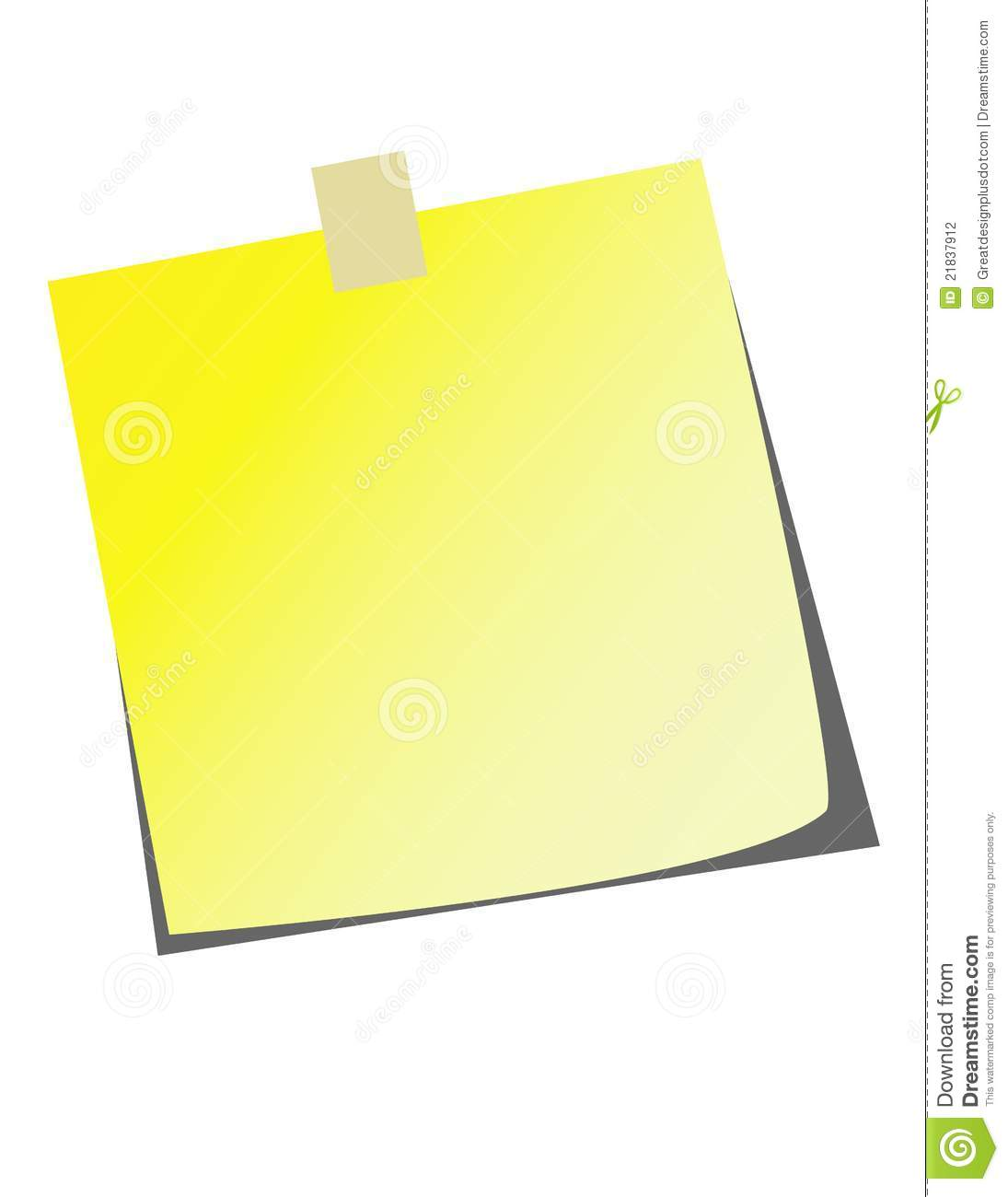 Free vector graphic sticky note note info paper free image on - Royalty Free Stock Photo Art Clip Note Realistic Sticky Vector